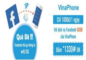 Dịch vụ Facebook USSD của VinaphoneDịch vụ Facebook USSD của Vinaphone